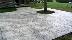 Cement Patio Designs Lush Slate Pattern Sted Patio Ideas D Cement Patio Designs