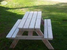 ana white build a preschool picnic table free and easy diy