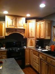 Rustic Hickory Kitchen Cabinets Bird Peck Hickory Kitchen Cabinets