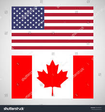 Us Flag Facts Flags Us Flag Flag Canada Symbols Stock Vector 563359489