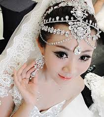 wedding hair bands online shop 2015 luxury rhinestone forehead tiara