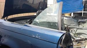 bmw e46 325ci 330ci convertible rear window regulator removal