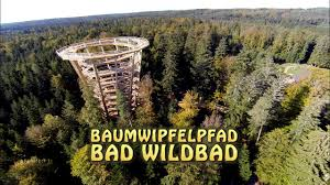 Kurpark Bad Wildbad Bad Wildbad Schwarzwald Tree Top Walk Black Forest