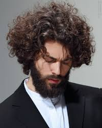 hairstyles for long curly hair men men39s hairstyles casual long