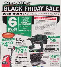 what time does home depot open on black friday 2016 menards black friday 2017 ads deals and sales