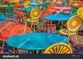 famous chairs tables university wisconsin union stock photo