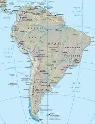 map of cities in south america south america maps world gazetteer driving