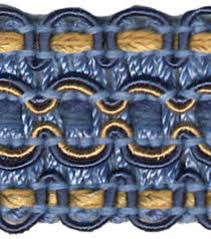 Home Decor Trims Conso 1in Blue Yellow Braid Blue Yellow And Condos