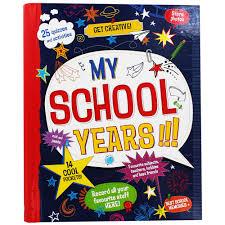 school memories album my school years best memories album by parragon children s