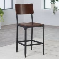 countertop stools kitchen belham living trenton wood and metal counter stool hayneedle