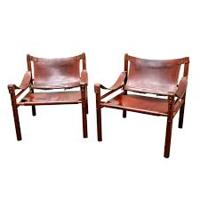 Iconic Chairs Of 20th Century Pair Of Magnificent Mid Century Sirocco Lounge Chairs By Arne