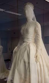 wedding dress grace 25 000 replica of grace s wedding dress at philadelphia