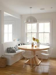 tisch küche runder esstisch massiv für weiße sitzecke küche freshouse