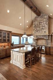 dark cabinets in kitchen small tile subway backsplash wall large