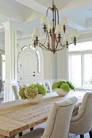 Rustic Dining Room Table Decor The Picture To Display How Rustic And Refined Work