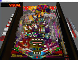 Visual Pinball Tables by Wheel Of Fortune Wip Monster Bash Pincab