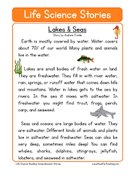 lakes u0026 seas grade 4 pinterest comprehension teaching and lakes