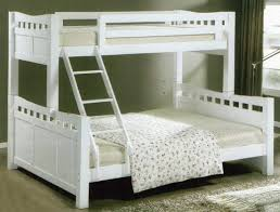 SSBB Single Over Queen Size Wood End   PM - Queen single bunk bed