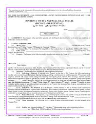 Real Estate Commission Agreement Template by Contract To Buy And Sell Real Estate Income Residential U2013 Bradford