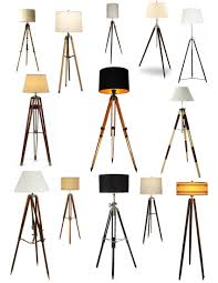 interior ideas add lighting to your room with tripod floor lamp