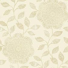 shirazi champagne bohemian floral wallpaper contemporary