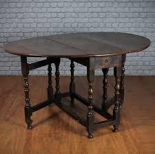 Oak Drop Leaf Table Georgian Oak Drop Leaf Table Antiques Atlas