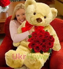 teddy delivery teddy roses ukrflower flower delivery kiev ukraine