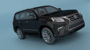 lexus sports car model lexus gx 460 3d cgtrader