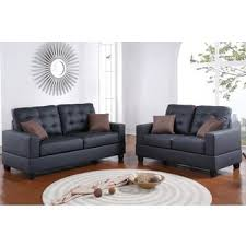 faux leather living room furniture sets shop the best deals for