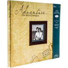 travel photo album travel adventure post bound album 12 x 12 hobby lobby 482273
