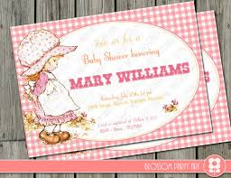 customized baby items baby shower invitation pink printable digital