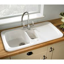 ceramic white kitchen sink 11675
