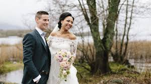 our wedding story a caribbean engagement and a killarney wedding