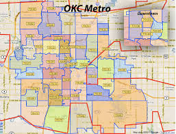 okc zip code map okc zip code map zip code map