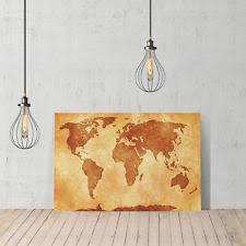 Decorative World Map World Map Original Home Décor Posters U0026 Prints Ebay