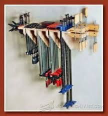 Tool Storage Shelves Woodworking Plan by How To Make A Bessey And Jet Parallel Clamp Rack And Storage Shelf