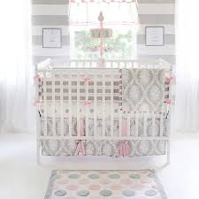 Winnie The Pooh Nursery Bedding Sets by Amazon Com My Baby Sam Olivia Rose Bumper Pink Gray Baby