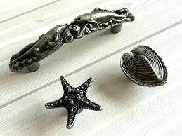 nautical kitchen cabinet hardware coastal style cabinet hardware buy dolphin starfish shell oyster