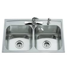 Kitchen Sinks Drop In Double Bowl by Kitchen Accessories Undermount And Drop In Kitchen Sink With