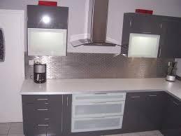 cuisine grise pas cher beau cuisine grise et blanche et meuble cuisine gris pas cher