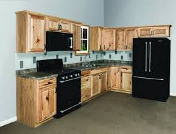 Beautiful Hickory Cabinets For A Natural Looking Kitchen Http - Kitchen cabinets menards