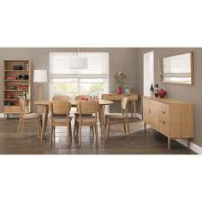 6 seater oak dining table retro 6 seater dining table oak