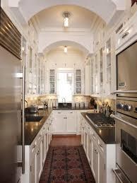 simple kitchen renovation ideas to make narrow kitchen more