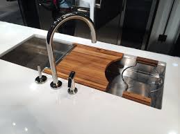 2014 home builder kitchen bath show eye on design by dan gregory mick de giulio sinks by kallista part of the bosch and thermador displays and a good example of co branding kallista is a kohler company