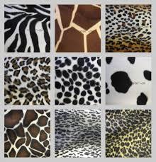 Animal Print Upholstery Fabric Animal Print Fur Effect Curtain Fabric Upholstery Material 150cm