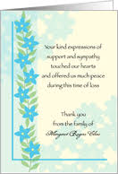 sympathy thank you cards buy sympathy thank you cards online from greeting card universe