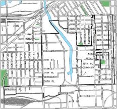 40th ward chicago map city of chicago 35th halsted tif