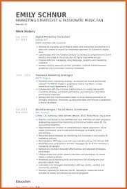 digital marketing resume resume name