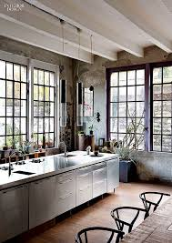 3 Stylish Industrial Inspired Loft Studio Loft Exposed Beam Ceilings Metal Windows And Industrial