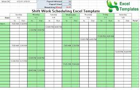 Excel Shift Schedule Template Schedule Templates Page 3 Of 6 100 Collection Of Free Word